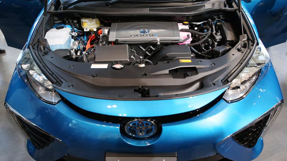 Japón apuesta por el coche de hidrógeno