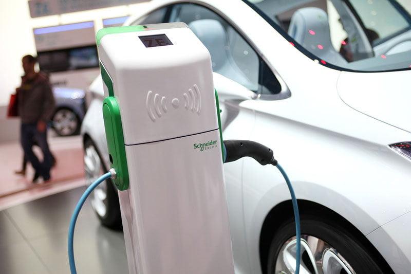 Puntos de carga para coches eléctricos