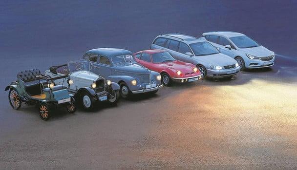 Opel… de las máquinas de coser a los coches