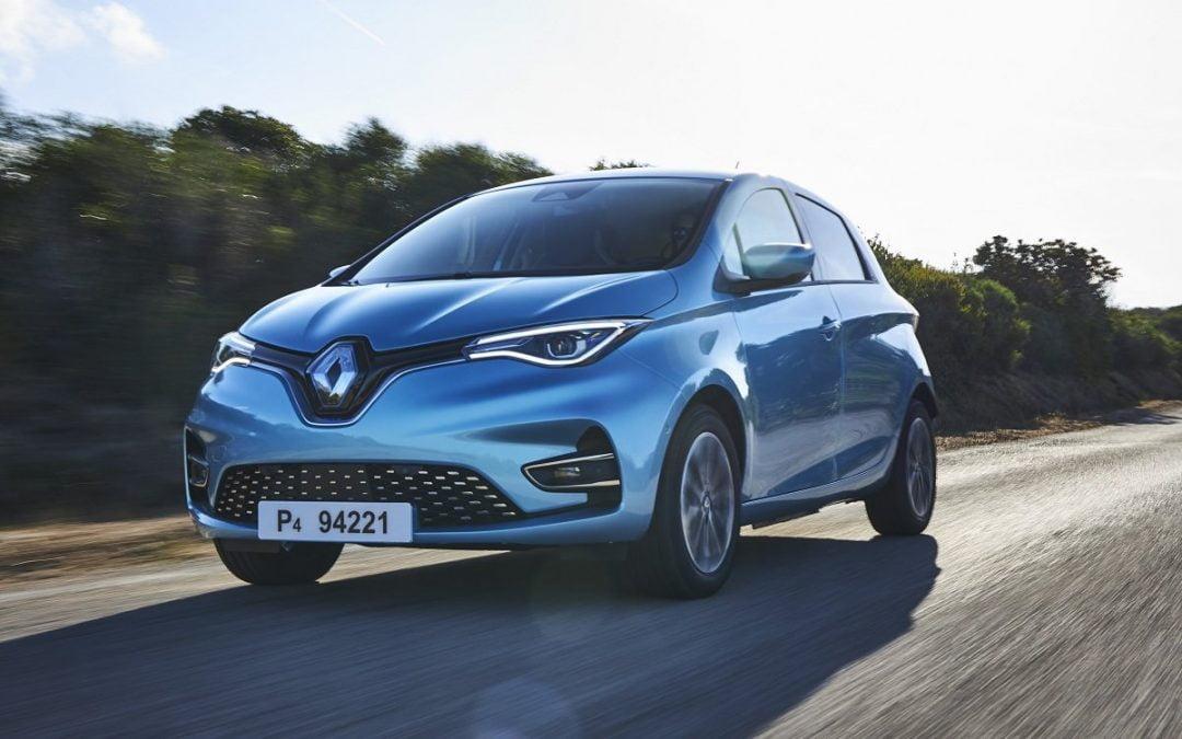 Renault Zoe 100 % eléctrico